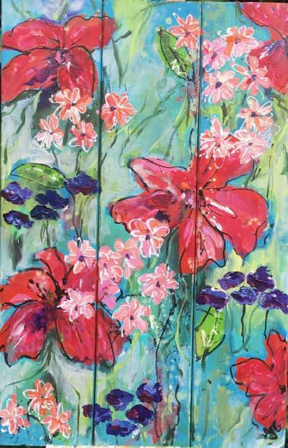 zomertuinschilderij